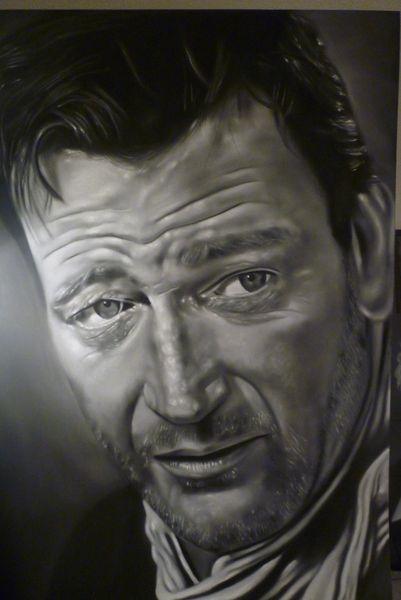 John Wayne by ricopainting